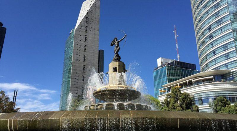 La Diana en el Paseo de la Reforma de la CDMX