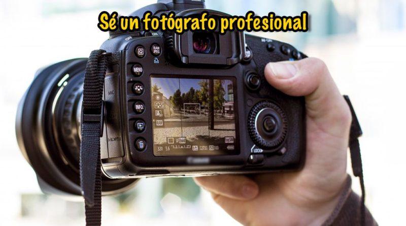 Tu cámara como profesional