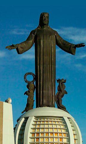 Templos en Guanajuato: Santuario Cristo Rey.