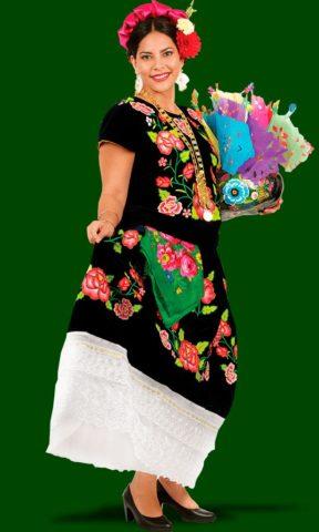 Trajes Regionales del Istmo de Oaxaca: Juchitán