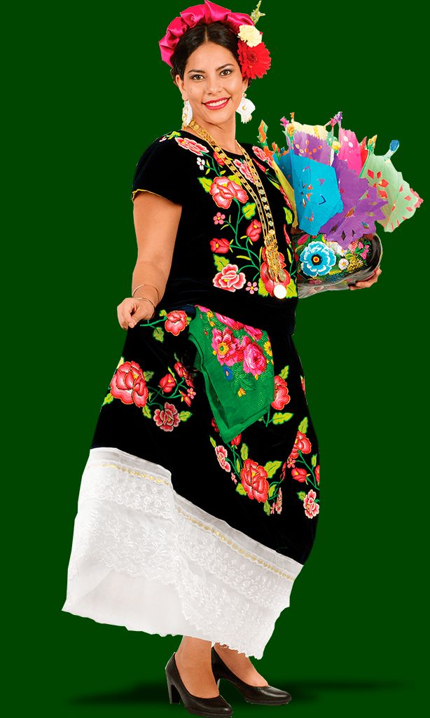 Región Del Istmo De Oaxaca Trajes Típicos Mexico Real
