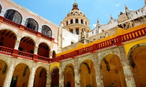 Templos en Guanajuato: La Compañia.