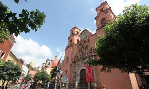 Templos en Guanajuato: San Francisco.