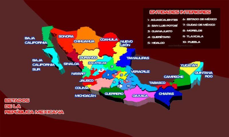 Conoce los Estados de la República Mexicana
