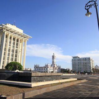 El Puerto de Veracruz: histórico y festivo.