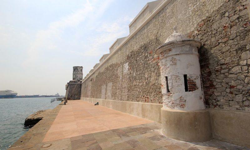 San Juan de Ulúa en el Puerto de Veracruz