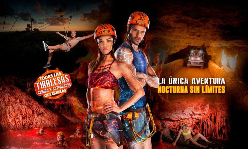 Tour Xplore Fuego, Xcaret