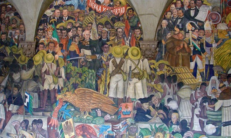Mural en Palacio Nacional