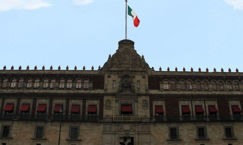 Balcón principal del Palacio Nacional