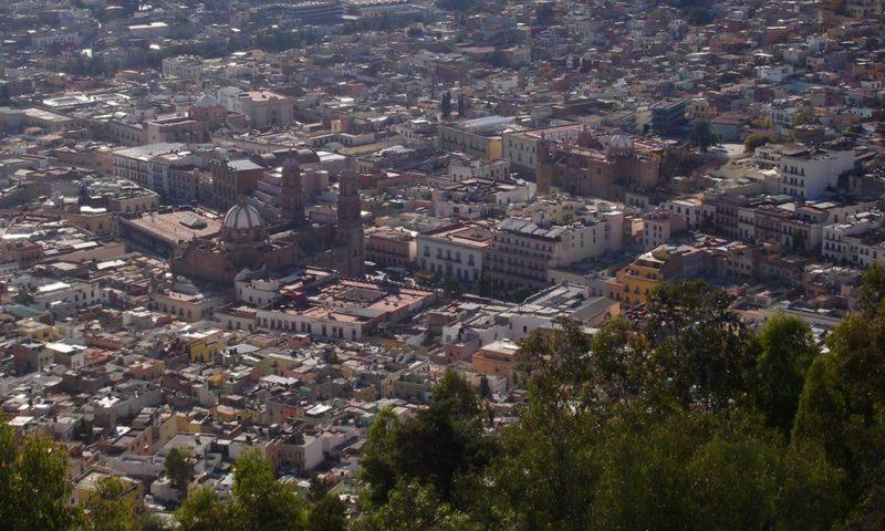 Panorámica de Zacatecas desde el cerro de la Bufa