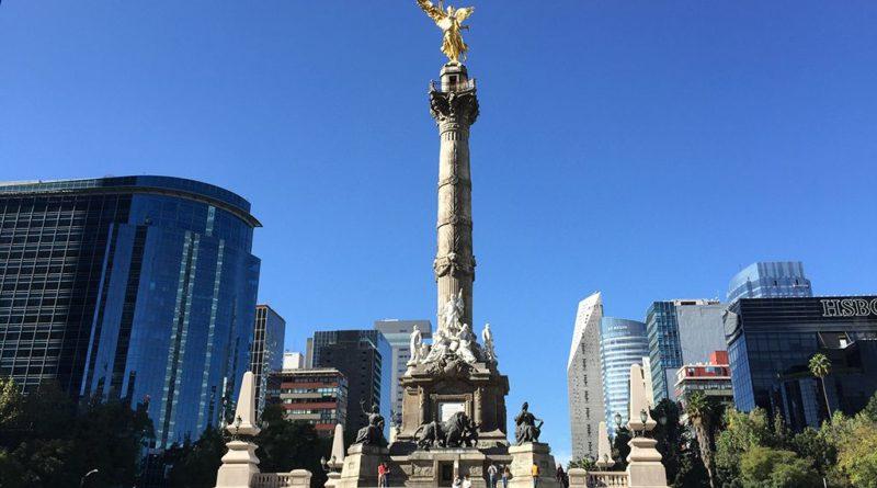 Columna de la Independencia y El Ángel