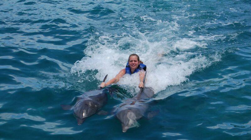 Nado con delfines en Isla Mujeres, una gran experiencia.