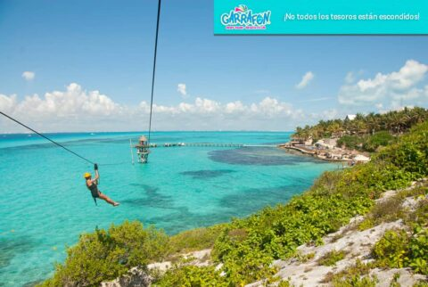 Parque Garrafón: todo el encanto de Isla Mujeres.