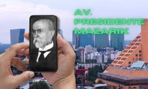 Presidente Masaryk, una de las avenidas más lujosas del mundo.