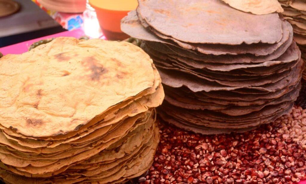 Tortillas en Oaxaca de Juárez