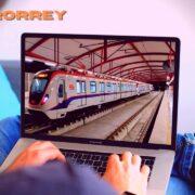Metrorrey: el metro de Monterrey, Nuevo León.